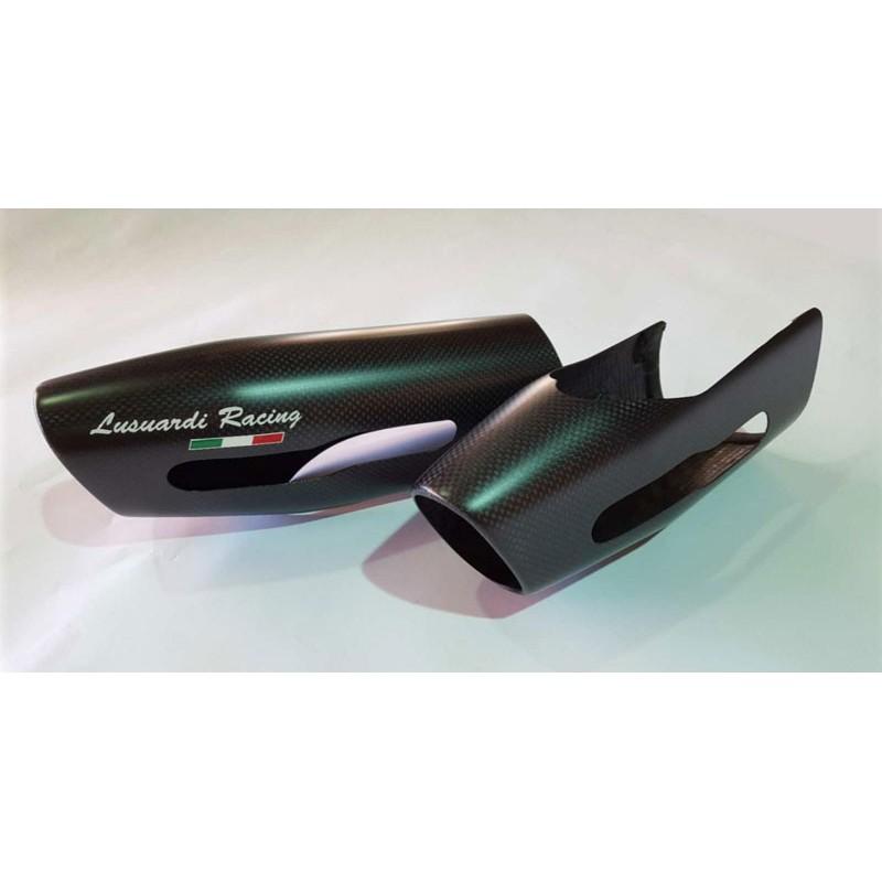 Cover silenziatore in carbonio per Multistrada 1200 2010/2014
