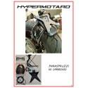Paraspruzzi in carbonio per porta targa basso Hypermotard 796/1100