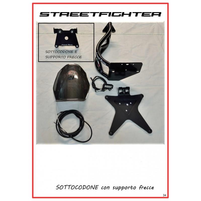 SOTTOCODONE PER PORTA TARGA BASSO STREETFIGHTER 848 - 1100
