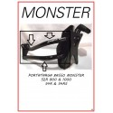 Porta targa per Monster modelli Vecchi S2R/S4R/S4RS